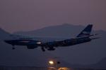 sg-driverさんが、香港国際空港で撮影したシルクウェイ・ウェスト・エアラインズ 747-83QFの航空フォト(写真)