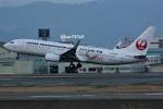 kan787allさんが、福岡空港で撮影した日本トランスオーシャン航空 737-8Q3の航空フォト(写真)
