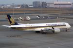 tkosadaさんが、羽田空港で撮影したシンガポール航空 A350-941XWBの航空フォト(写真)