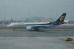 pringlesさんが、香港国際空港で撮影したジェットエアウェイズ A330-202の航空フォト(写真)