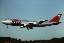 tassさんが、成田国際空港で撮影したノースウエスト航空 747-251F/SCDの航空フォト(写真)