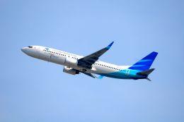 航空フォト:PK-GFD ガルーダ・インドネシア航空 737-800