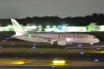 Cherry blossoms さんが、成田国際空港で撮影したエチオピア航空 787-8 Dreamlinerの航空フォト(写真)