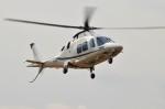 ヘリオスさんが、東京ヘリポートで撮影したノエビア AW109SP GrandNewの航空フォト(写真)
