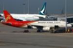 Kuuさんが、香港国際空港で撮影した深圳航空 A320-232の航空フォト(飛行機 写真・画像)