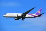 こじゆきさんが、スワンナプーム国際空港で撮影したタイ国際航空 787-8 Dreamlinerの航空フォト(写真)