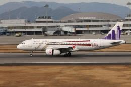 masashiiiさんが、高松空港で撮影した香港エクスプレス A320-232の航空フォト(飛行機 写真・画像)