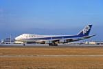 Gambardierさんが、高松空港で撮影した全日空 747SR-81の航空フォト(写真)