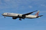 JMBResonaさんが、ワシントン・ダレス国際空港で撮影したカタール航空 777-3DZ/ERの航空フォト(写真)