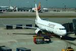 Kuuさんが、香港国際空港で撮影したミャンマー・ナショナル・エアウェイズ 737-86Nの航空フォト(写真)