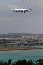 GNPさんが、那覇空港で撮影した全日空 767-381の航空フォト(写真)