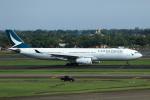 ★azusa★さんが、スカルノハッタ国際空港で撮影したキャセイパシフィック航空 A330-342Xの航空フォト(写真)