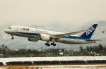 ひげおやじさんが、富山空港で撮影した全日空 787-8 Dreamlinerの航空フォト(写真)