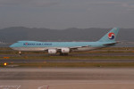 kuro2059さんが、関西国際空港で撮影した大韓航空 747-8B5F/SCDの航空フォト(写真)