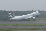 kuro2059さんが、成田国際空港で撮影したキャセイパシフィック航空 747-867F/SCDの航空フォト(飛行機 写真・画像)