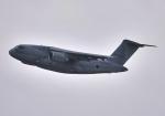 雲霧さんが、習志野演習場で撮影した航空自衛隊 C-2の航空フォト(写真)