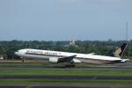 ★azusa★さんが、スカルノハッタ国際空港で撮影したシンガポール航空 777-312の航空フォト(写真)