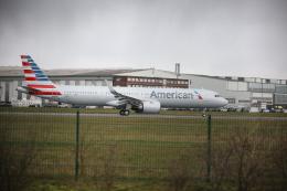 U.Tamadaさんが、ハンブルク・フィンケンヴェルダー空港 で撮影したアメリカン航空 A321-253NXの航空フォト(飛行機 写真・画像)