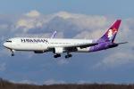 Snow manさんが、新千歳空港で撮影したハワイアン航空 767-33A/ERの航空フォト(写真)