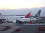 cornicheさんが、マドリード・バラハス国際空港で撮影したセイバ・インターコンチネンタル 737-8FBの航空フォト(飛行機 写真・画像)