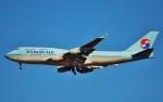 鉄バスさんが、成田国際空港で撮影した大韓航空 747-4B5の航空フォト(飛行機 写真・画像)