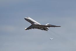 tsubasa0624さんが、羽田空港で撮影したプライベートエア BD-700-1A10 Global Expressの航空フォト(飛行機 写真・画像)