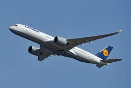 tsubasa0624さんが、羽田空港で撮影したルフトハンザドイツ航空 A350-941の航空フォト(飛行機 写真・画像)