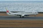 ポン太さんが、中部国際空港で撮影した日本トランスオーシャン航空 737-8Q3の航空フォト(写真)