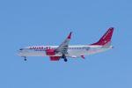 ladyinredさんが、成田国際空港で撮影したイースター航空 737-8-MAXの航空フォト(写真)