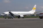 kinsanさんが、フセイン・サストラネガラ空港で撮影したインドネシア空軍 737-4U3の航空フォト(写真)