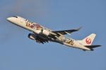 ITM44さんが、伊丹空港で撮影したジェイ・エア ERJ-190-100(ERJ-190STD)の航空フォト(写真)