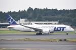 kumagorouさんが、成田国際空港で撮影したLOTポーランド航空 787-8 Dreamlinerの航空フォト(写真)