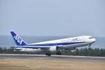 走る男さんが、鳥取空港で撮影した全日空 767-381の航空フォト(飛行機 写真・画像)