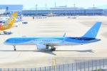 Cherry blossoms さんが、関西国際空港で撮影したトムソン航空 757-28Aの航空フォト(飛行機 写真・画像)