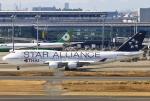 あしゅーさんが、羽田空港で撮影したタイ国際航空 747-4D7の航空フォト(写真)