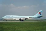 Gambardierさんが、伊丹空港で撮影した大韓航空 747-3B5の航空フォト(写真)