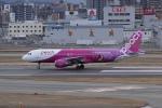 pringlesさんが、福岡空港で撮影したピーチ A320-214の航空フォト(写真)