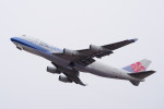 yonsuさんが、関西国際空港で撮影したチャイナエアライン 747-409F/SCDの航空フォト(写真)