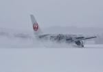 函空さんが、函館空港で撮影した日本航空 767-346/ERの航空フォト(写真)