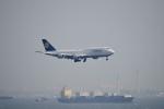 飛行機ゆうちゃんさんが、羽田空港で撮影したルフトハンザドイツ航空 747-830の航空フォト(写真)