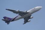 ANA744Foreverさんが、羽田空港で撮影したタイ国際航空 747-4D7の航空フォト(写真)