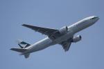 ANA744Foreverさんが、羽田空港で撮影したキャセイパシフィック航空 777-267の航空フォト(写真)