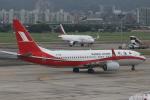 MA~RUさんが、台北松山空港で撮影した上海航空 737-89Pの航空フォト(写真)