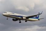 tmkさんが、伊丹空港で撮影した全日空 A321-211の航空フォト(写真)