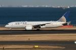 rjジジィさんが、羽田空港で撮影したユナイテッド航空 787-8 Dreamlinerの航空フォト(写真)