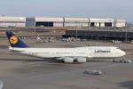 reonさんが、羽田空港で撮影したルフトハンザドイツ航空 747-830の航空フォト(写真)