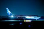 けんじさんが、岡山空港で撮影した全日空 737-881の航空フォト(写真)