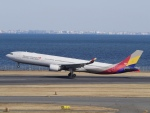 kentaro0918さんが、羽田空港で撮影したアシアナ航空 A330-323Xの航空フォト(写真)