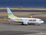 kentaro0918さんが、羽田空港で撮影したAIR DO 737-781の航空フォト(写真)
