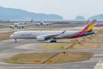 みなかもさんが、関西国際空港で撮影したアシアナ航空 A350-941XWBの航空フォト(写真)